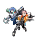 カプコン、iOS『オトレンジャー』で同社の人気アクションゲーム『エクストルーパーズ』とのコラボ企画を実施…楽曲は劇中のキャラが歌うボーカル曲