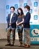 DeNAの無料通話アプリ「comm」のCM発表会の模様…吉高由里子さんも太鼓判