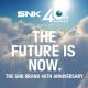 SNK、SNKブランド誕生40周年を記念して特設サイトをオープン 描き下ろしのスペシャルイラストやメッセージを公開