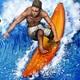 SummerTimeStudioの新作『Ancient Surfer』がリリースから10日間で世界50万DLを達成!