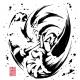 セガゲームス、『ソニック・ザ・ヘッジホッグ』28周年を記念した和柄アイテム新シリーズ「墨絵 超音速針鼠」を発売決定! 23日に東京ジョイポリスで先行発売