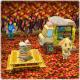 任天堂、『どうぶつの森 ポケットキャンプ』で「かべゆかコレクション」を追加…「こうよう」の「かべ」&「ゆか」で秋景色が楽しもう!