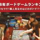 パセラリゾーツAKIBAマルチエンターテインメント店で提供している「2018年ボードゲームランキングTOP5」を発表