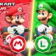任天堂、『マリオカート ツアー』で「チームマリオ」と「チームルイージ」に分かれてレースをする対抗戦「マリオVSルイージツアー」が開幕!
