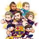 KONAMI、『実況パワフルサッカー』でFCバルセロナコラボを実施 ガチャにはメッシなど現役選手から、ロナウジーニョなどのレジェンドが勢揃い