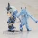 コトブキヤ、アニメ『フレームアームズ・ガール』より「キューポッシュえくすとら FAガール 充電くんせっと スティレットver.」を10月に発売