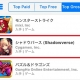 Cygames『Shadowverse』がApp Store売上ランキングで2位に浮上!