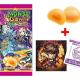 ミクシィ、『モンスト』のキャラクターシール付きオリジナル菓子「モンストグミ ジューシーコンボ」を全国のセブン‐イレブンで先行販売開始!