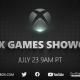 マイクロソフト、XBOX GAMES SHOWCASEを7月24日午前1時(日本時間)に開催!