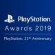 SIE、「PlayStation Awards 2019」を12月3日に開催 ユーザー投票開始およびYouTube配信決定