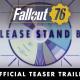 ベセスダ、『Fallout 76』ティザートレイラーを公開 詳細は6月11日開催ののベセスダ E3 ショーケースで発表