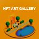 NFTECH、NFTアート・ギャラリーを東京で7月30日より開催…世界初の「買える」「持ち込める」「作れる」がコンセプト