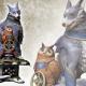 カプコン、 『モンスターハンターライズ』よりオトモガルクの大型フィギュアを11月25日に発売
