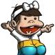 イルカアップス、『おしり前マン~OSIRIUS~』で「少年バカボン」コラボwo開始 オリジナルキャラ「バカまじめバカボンのパパ」も登場