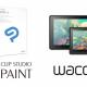 セルシス、「CLIP STUDIO PAINT EX」が最大6ヶ月無料で利用できるライセンスがワコムの液晶ペンタブレット「Wacom Cintiq」にバンドル