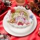 キャラクターケーキ専門店「あにしゅが」、『プリパラ』の限定クリスマスケーキの予約を10月31日より受付開始、限定プレート付き