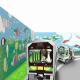バンダイナムコアミューズメント、「あそびパークPLUS札幌エスタ店」を7月4日に増床リニューアル 地元鉄道会社とコラボしたキッズ向け乗り物を導入