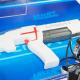 【クリスマスおもちゃ見本市】メガハウス、安全安心にサバゲーが楽しめる『レーザークロスシューティング』の新製品を9月下旬より順次発売