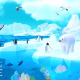 FLERO GAMESとIDLE Idea Factory、事前登録中『アビスリウム ポール』の新地域「氷河」「空」の映像を公開!