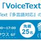 HOYAサービス、音声合成エンジンVoiceTextのセミナーを開催