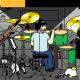 個人開発の杉本知子、ドラマー向けミニアクションゲーム『Doradora Panic』を配信 ドラムセットに起きるトラブルを解決しよう