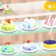 【ハイカジ道】世界1000万DL突破の『ミラーケーキ』…マーブル模様の液体がスポンジに広がる様に思わず見惚れる