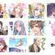 NHN PlayArt、『DAME×PRINCE』のLINEスタンプを配信 ゲーム内でおなじみのセリフも登場の全40種がラインナップ
