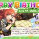 バンナム、『シャニマス』で「有栖川 夏葉」誕生日記念キャンペーンを開催中! 限定ガシャやフェザージュエルのほか、誕生日プレゼントを贈ることも