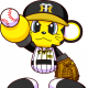 KONAMI、『実況パワフルプロ野球』で「阪神タイガース」のマスコット『トラッキー』とのコラボ決定!!