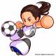 KONAMI、『実況パワフルサッカー』で女子サッカー界のレジェンド「澤 穂希」選手が新たにイベキャラとして登場決定!