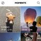 LINE、ソーシャル動画アプリ「LINE MOMENTS」のAndroid版を配信開始 指をスライドするだけで簡単に動画を編集することが可能!