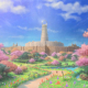コロプラ、『最果てのバベル』で「第2部」を鋭意開発中! 公開されたイラストは冒険の舞台?
