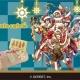 ジークレスト、『夢王国と眠れる100人の王子様』のクリスマスモチーフケーキを「アニメイトカフェ」より10月6日10時から発売