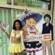 ビキニ姿のキャンペーンガールが『AKIBA'S TRIP Festa! 』コラボカフェのチラシ配りを実施…DMMゲームズ発表