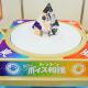 【クリスマスおもちゃ見本市】メガハウス、手ではなく声で「トントン」と操作する、新感覚のトントン相撲を出展