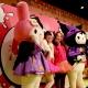 サンリオピューロランド、オールナイトハロウィーンパーティ「Pink sensation 2017 ~Hello Kitty 43rd Anniversary Bash!~」を10月28日開催