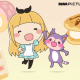 DMM、WeChatの人気キャラ「エリス」日本版PVを公開…人気声優でi☆Risメンバーの芹澤優さんを主題歌とCVに起用