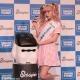 タカラトミー、スマホを使ったコミュニケーション玩具『スマポン』発表会を開催…人気モデル・タレントの藤田ニコルさんが応援に駆けつけた!