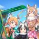 セガ、『けものフレンズ3』で「祭りだ!屋台だ!アテンション! しょうたい(後半)」を開催! 新フレンズ☆4「ニホンオオカミ」が登場