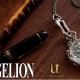 ユートレジャー、「エヴァンゲリオン」より立体的な「ふたりのレイ」を側面にデザインした懐中時計を発売