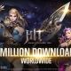 ネクソン、モバイル大型RPG『HIT』のグローバルバージョンが配信開始19日で累計300万DLを突破