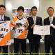 KONAMIと日本野球機構、「eBASEBALL プロリーグ」2019シーズン関連資料の寄贈式を実施