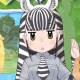 セガ、『けものフレンズ3』アプリ版のフレンズ紹介PVを公開! 今回は「サバンナシマウマ(CV:高橋花林)」に!