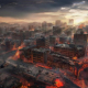 NetEase Games、『ライフアフター』で最新マップ「聖ローナ市」を実装! 火山がもたらす火の海の居住地、特殊感染体の出没も