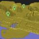 Cinq、立体地図を使った位置ゲーム『凸凹マップ』をリリース