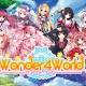 ジー・モード、美少女コレクションパズルRPG『Wonder4World』のAndroid版を配信開始 人気イラストレーターが100名以上参加