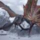 カプコン、『モンスターハンターライズ』でイベントクエスト「雪風に舞う朱の唐傘」を配信開始! 新たなスタンプ「フクズクセット」が手に入る