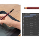 三菱鉛筆とワコム、セルシス、共同で鉛筆「Hi-uni(ハイユニ)」の描画体験がデジタルで再現! デジタルペン「Hi-uni DIGITAL for Wacom」を発売!