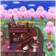 任天堂、『どうぶつの森 ポケットキャンプ』で「もようがえ」を紹介…桜のはなびらが舞うレトロな喫茶店をつくろう!