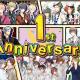バンナム、『ツキノパラダイス。』でサービス開始1周年を記念した「1周年記念キャンペーン」を開催!